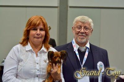 Unsere Ergebnisse auf WORLD DOG  SHOW in Leipzig am 10.11.2017